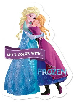 Let's color with... Frozen