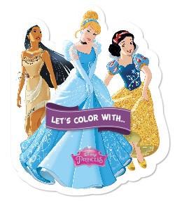 Let's color with... Disney Princess