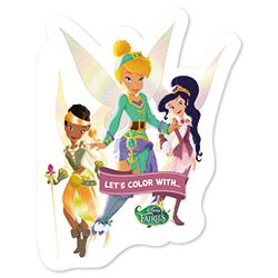 Let's color with... Disney Fairies