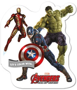Let's color with... Avengers Age of Ultron