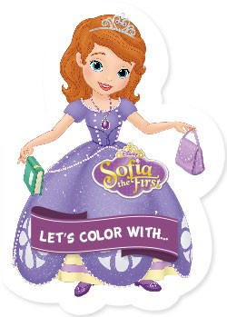 Let's color with... Sofia the First