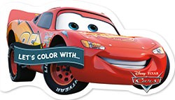 Let's color with... Cars