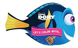 Let's color with... Finding Dory